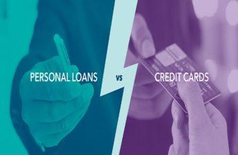 credit card loan vs. personal loan
