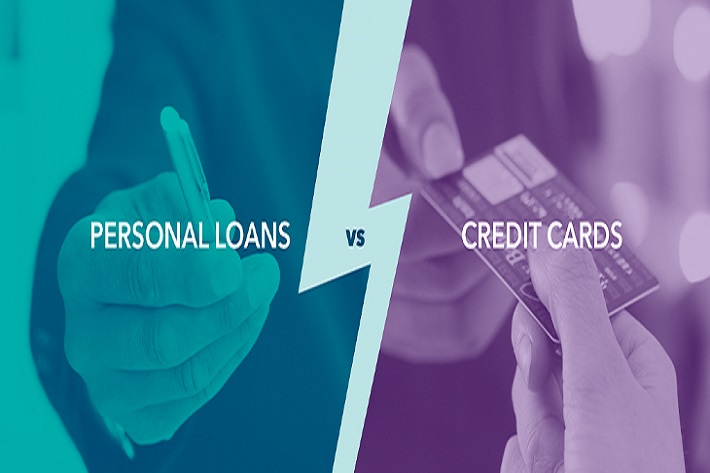 credit card loan vs. personal loan