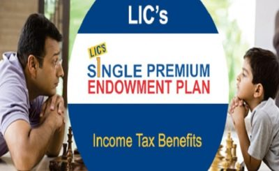 lic single premium endowment plan